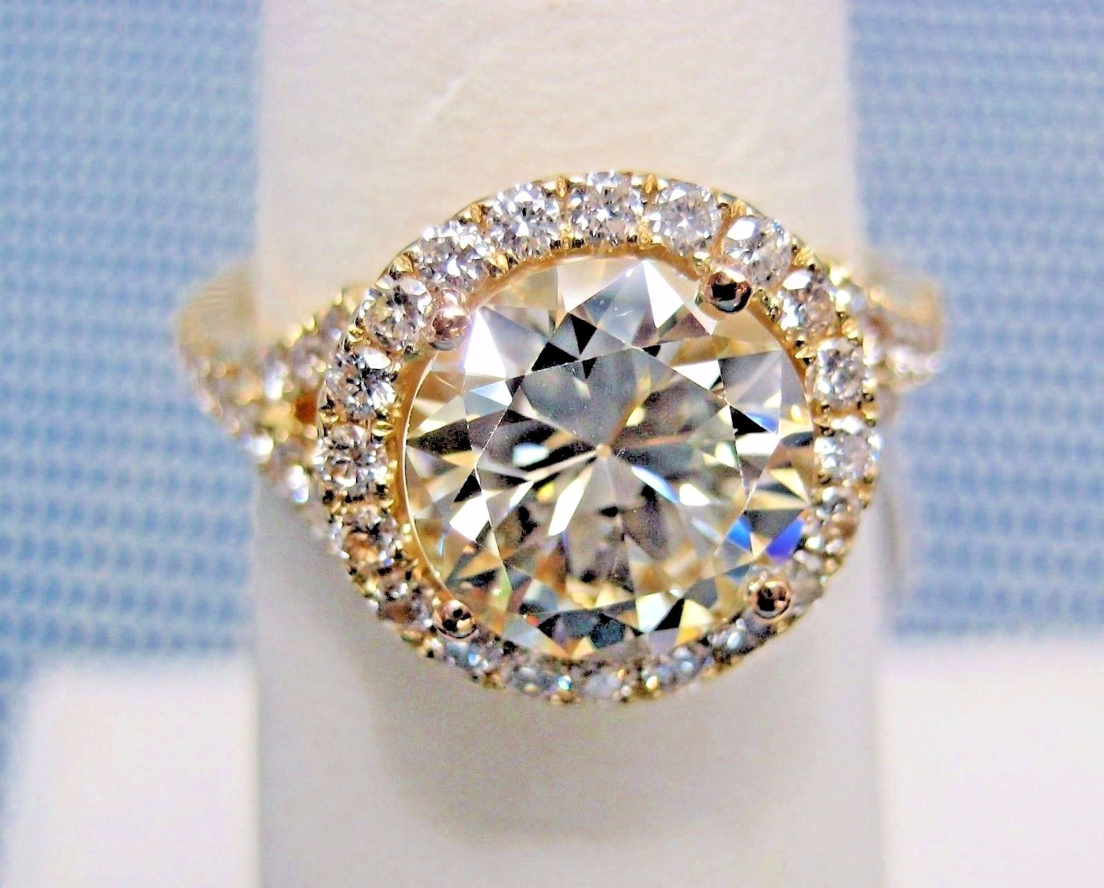 media hammered rings gold unique diamond ring engagement solitaire